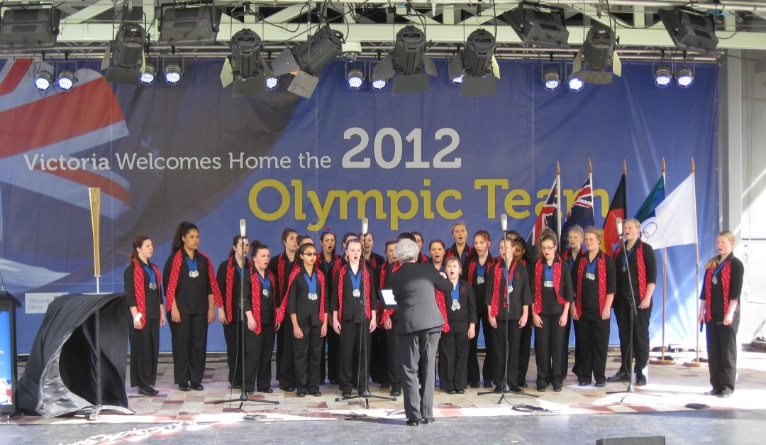 Welcome Home Olympians